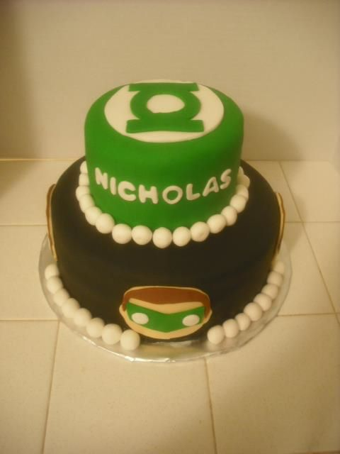 Angies Cakes Bakes Beware My Power Green Lanterns Light